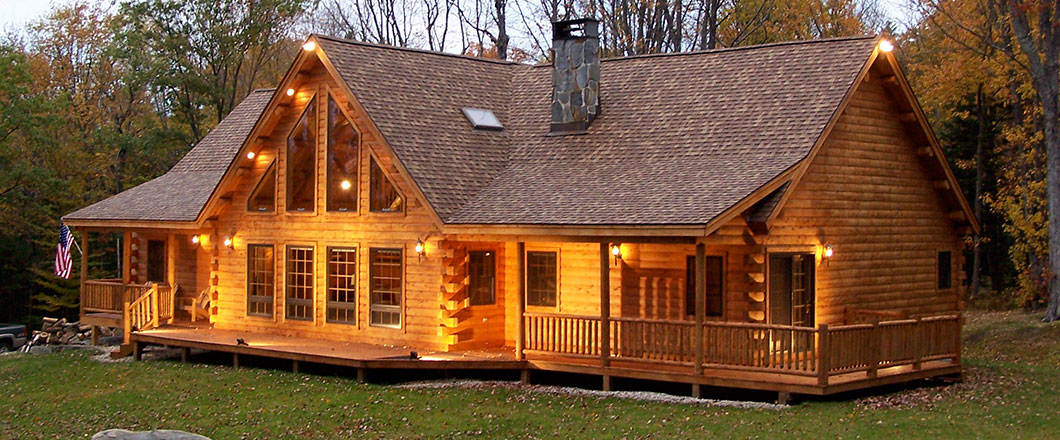 . Custom Log Homes  Design  Floor Plans  Greenville  ME  Moosehead